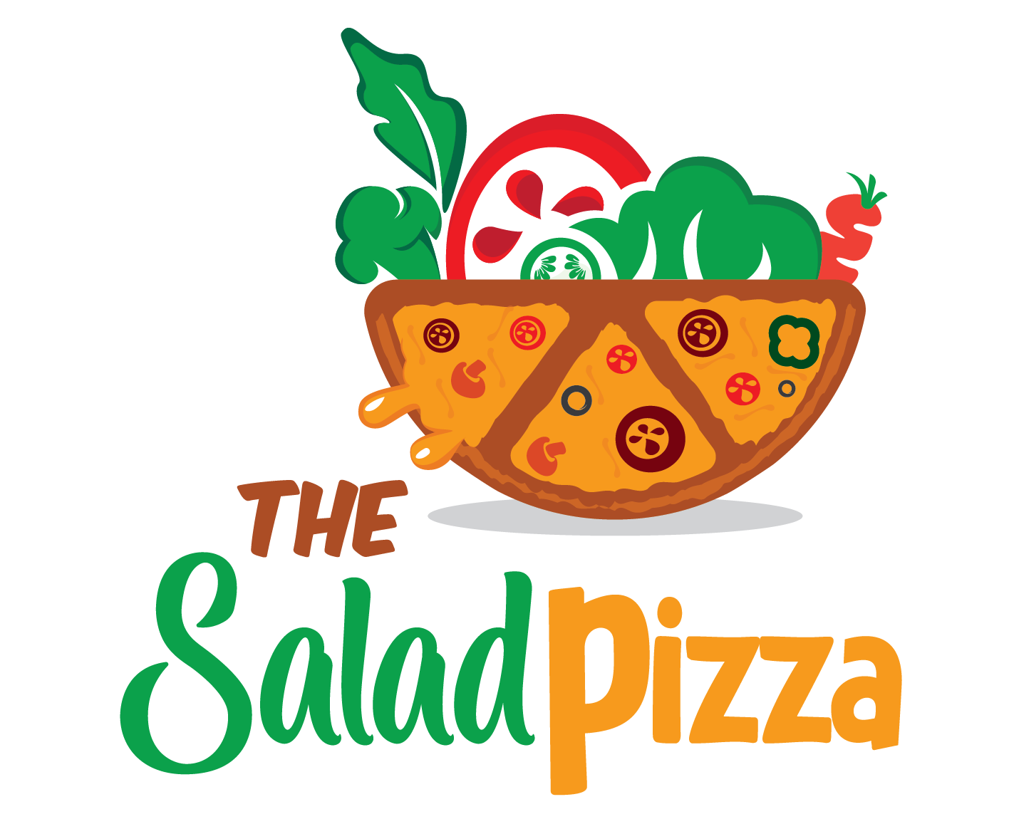 The Salad Pizza